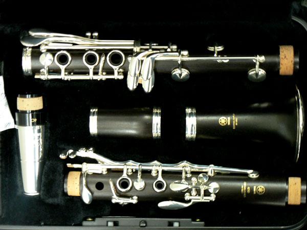 Cận cảnh bộ Kèn Clarinet Yamaha YCL-450