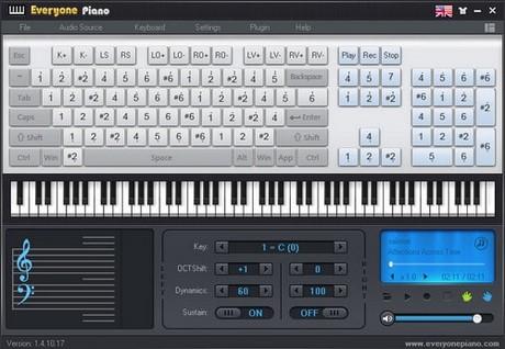 Cách đánh đàn piano trên máy tính