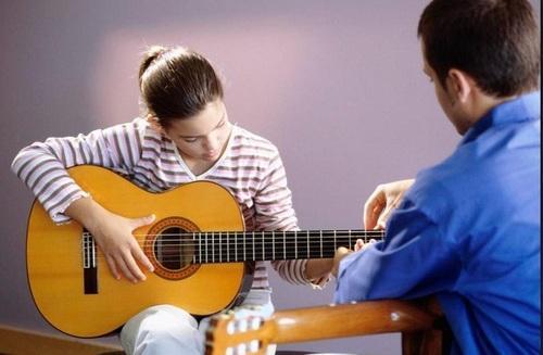 bài tập chạy ngón guitar