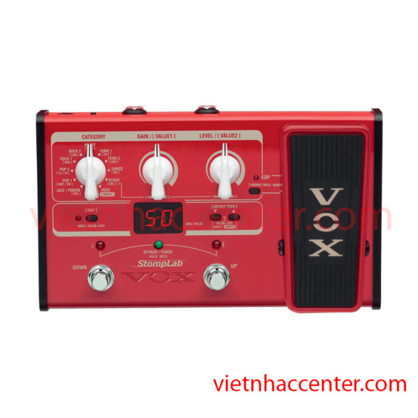 Multi Effect Guitar Bass VOX Stomplab 2B SL2B
